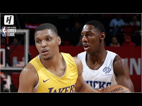 Los Angeles Lakers vs New York Knicks -  Game Highlights  July 10 2019 NBA Summer League