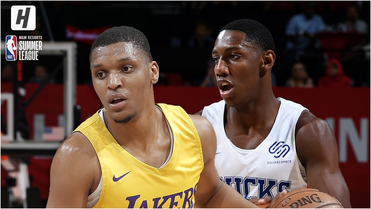 Los Angeles Lakers vs New York Knicks - Full Game Highlights | July 10, 2019 NBA Summer League