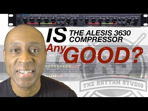 Is The Alesis 3630 Compressor A Good First Compressor to Buy