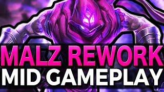 REWORKED MALZAHAR IS BROKEN - Gameplay League of Legends