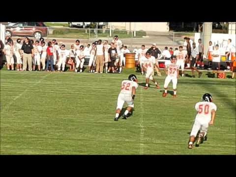 Dulles High School (DHS) vs Terry HS 9th Grade Game Film 2015
