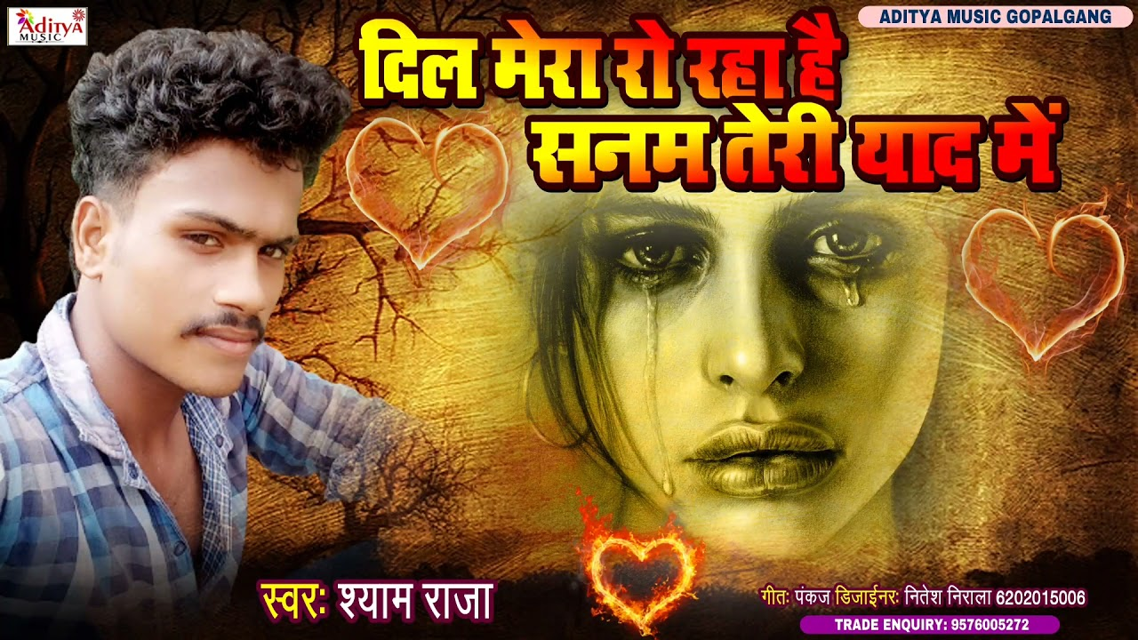 दिल मेरा रो रहा सनम तेरी याद मे 2021 Hit Sad Song || #Syam_Raja || Aditya Music Gopalganj