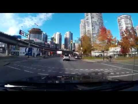 CGI-C9 Dash Cam Unedited Live Footage From Downtown Vancouver, BC, Canada
