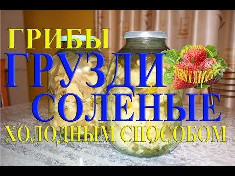 грузди грибы соленые на зиму приготовление груздей холодным способом белый груздь рецепт