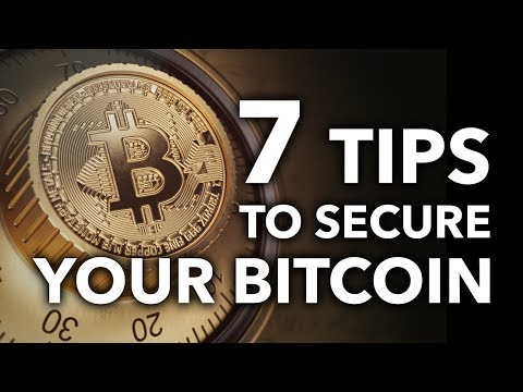 Afraid Of Losing Bitcoin? Here Are 7 Security Tips To Protect You From Yourself