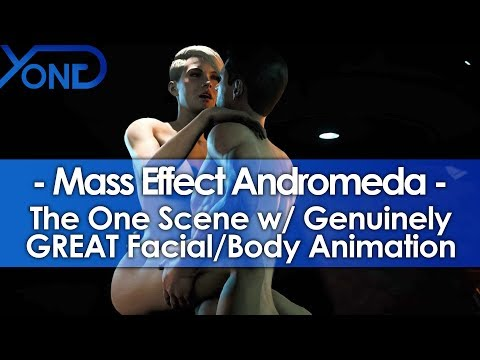 Mass Effect Andromeda's One Scene w/ Genuinely GREAT Facial & Body Animation