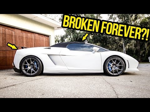 My Cheap Lamborghini's Stupid Top Is STILL BROKEN (And I Can't Figure Out Why!!!)