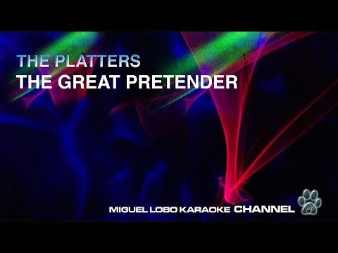 THE PLATTERS - THE GREAT PRETENDER - [Karaoke] Miguel Lobo