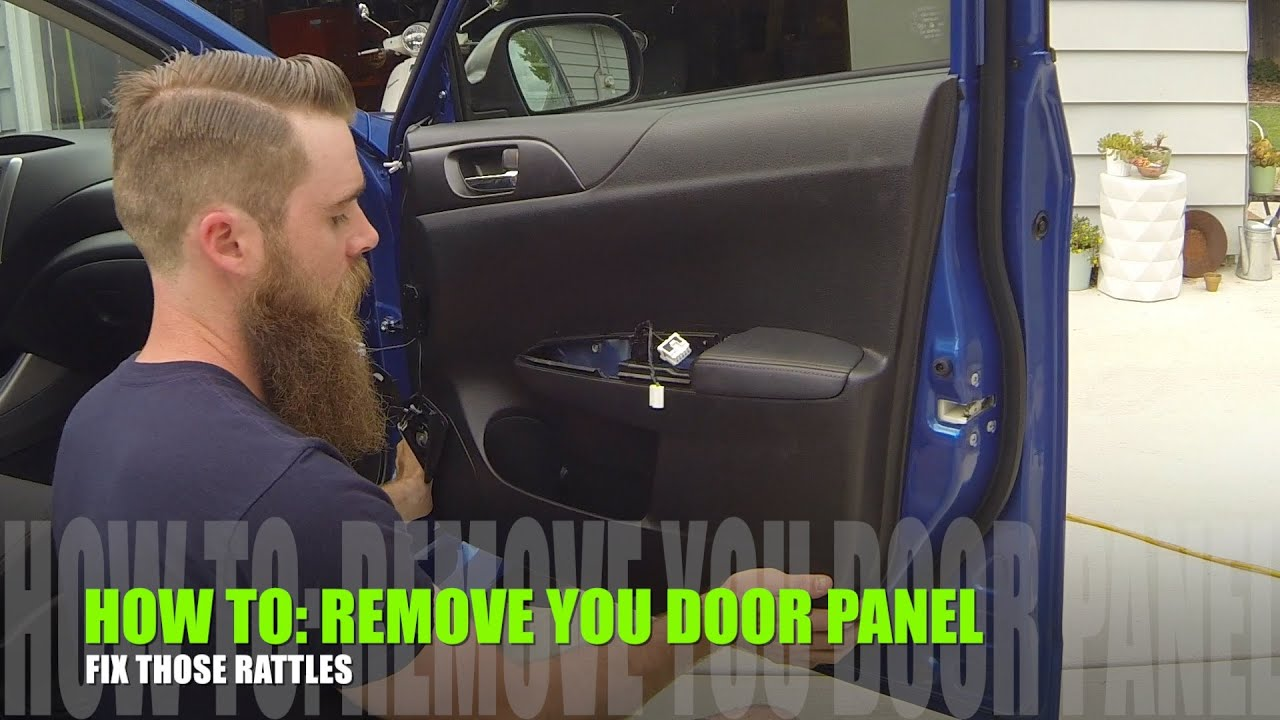 Subaru Impreza 08+ Door panel removal