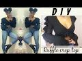 DIY Ruffle crop top | FASHION FIX EP 7 | Birabelle |