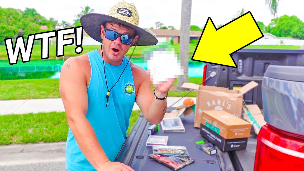 New WEIRD Fishing Lure is CRAZY!