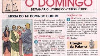PCJ; Vídeo-texto; Liturgia; O DOMINGO 2014 Nº 33