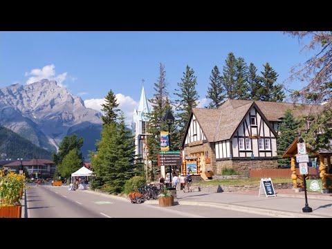 BANFF Alberta Canada Travel 2021