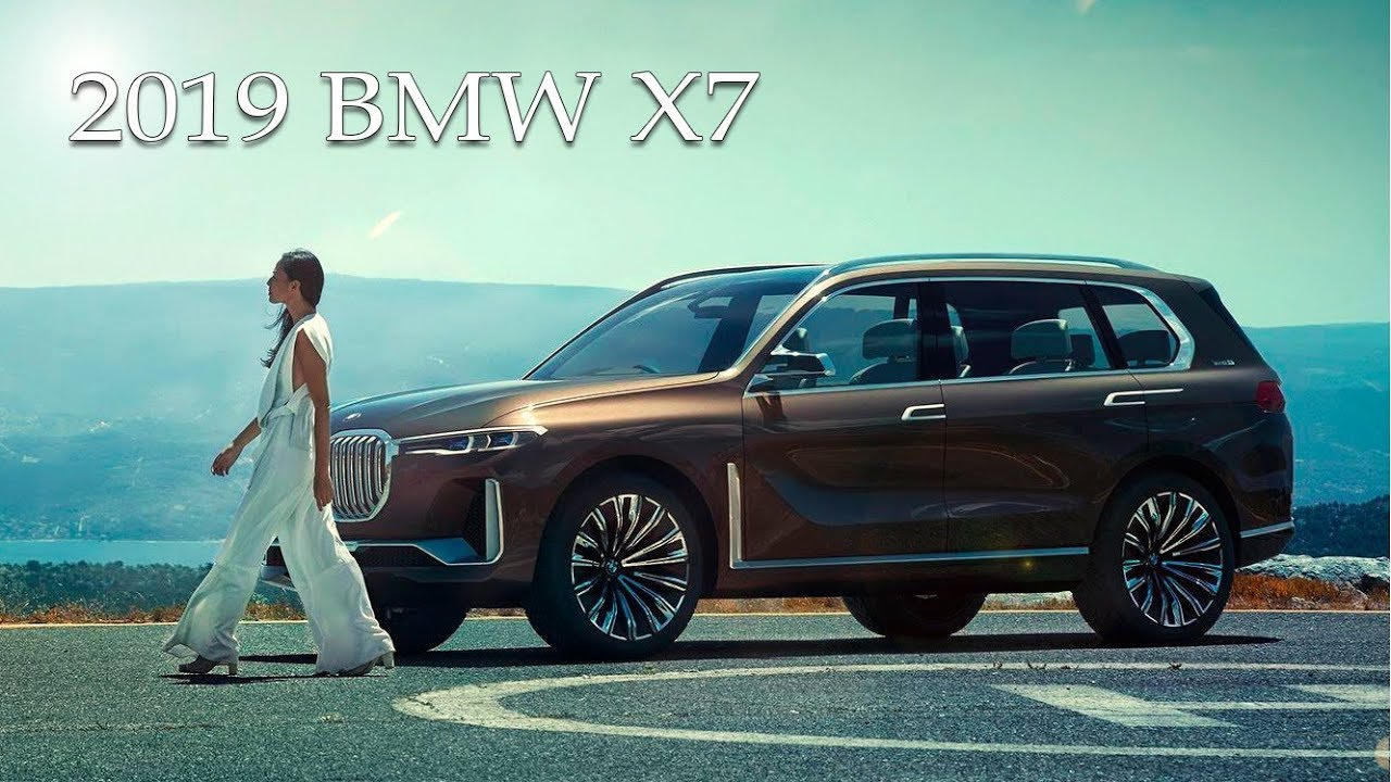 all-new 2019 bmw x7 suv - official preview - youtube