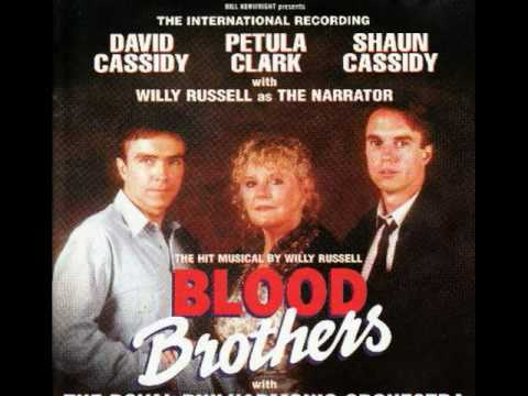 "Blood Brothers I""m Not Saying A Word Track 15"