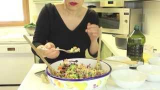 Crunchy, Healthy, And Easy Quinoa Salad I Sanaacooks