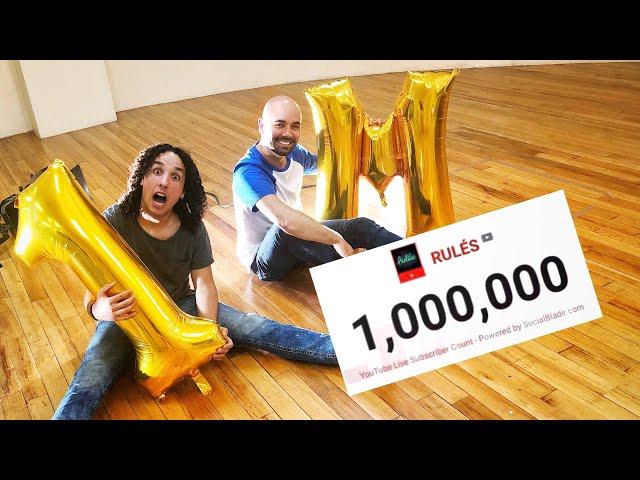 1 MILLÓN de Rulers - NUESTROS SEGUIDORES NOS TROLLEAN