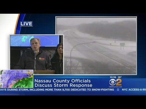 Nassau County Exec On Storm Response