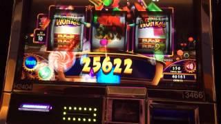HUGE Line Hit!! WIlly Wonka 3-Reel (Max Bet!)
