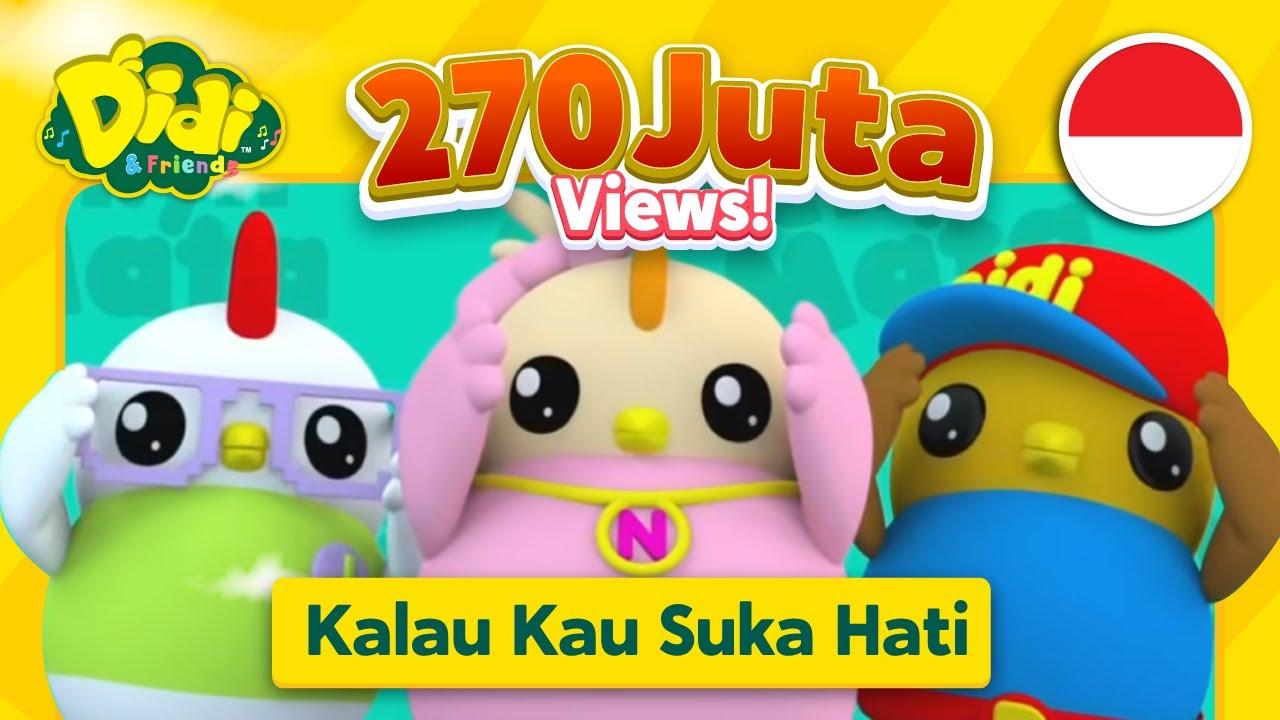 Download Kalau Kau Suka Hati | Lagu Anak-Anak Indonesia | Didi & Friends Indonesia
