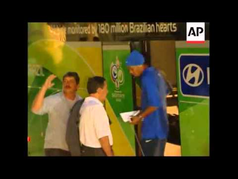 Brazilian team arrives in Berlin