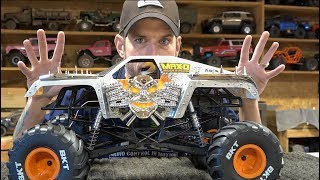 MONSTER JAM MAX D - AXIAL 4x4 Truck Unboxing - SM10T | RC ADVENTURES