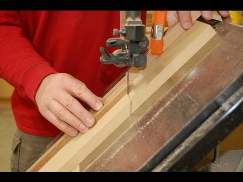 Cross Cut Sled Methods - Band Saw How to - Designs in Wood ...