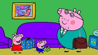 Peppa Pig Coloring Pages ft. Daddy Pig Father