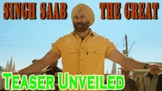 Sunny Deol's 'Singh Saab The Great' Teaser Unveiled