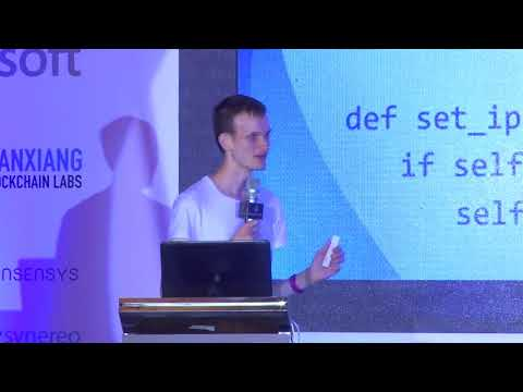 Ethereum with Vitalik Buterin at Devcon2 | Rob Buser