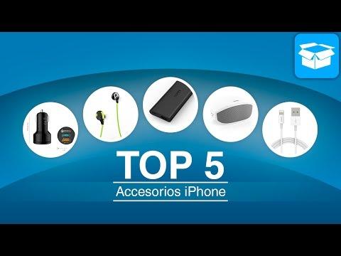 TOP 5 de accesorios para iPhone