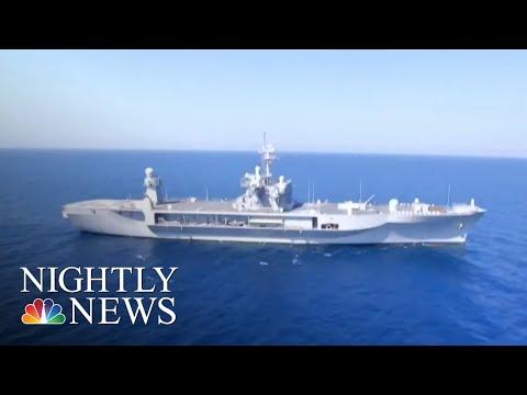 U.S. Navy And Allies Train In Black Sea Ahead Of Trump-Putin Summit | NBC Nightly News