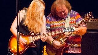 Bernie Marsden and Joanne Shaw Taylor Birmingham November 2014
