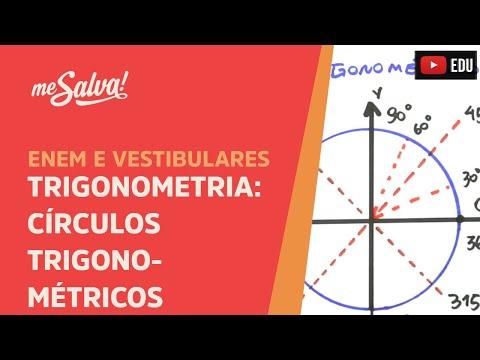 Me Salva! Extensivo de Matemática - TRIG01 - Trigonometria: Círculo trigonométrico e arcos côngruos