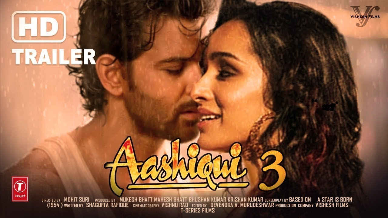 Download Aashiqui 3 official trailer | 2020 HD Hrithik roshan and Shraddha kapoor | Concept Trailer