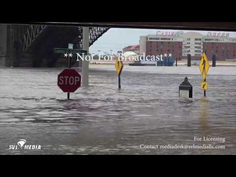 St. Louis, Missouri - Mississippi River Flooding - May 4th, 2017