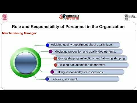 Apparel Industry – Organisational Set Up