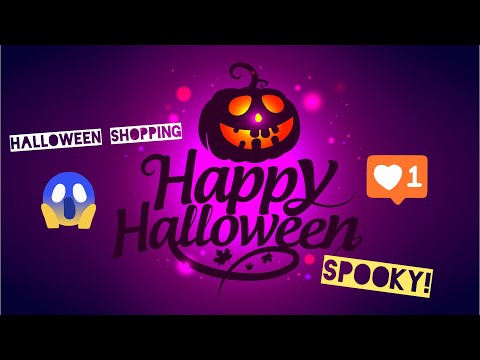 Nevaeh goes shopping for a Halloween costume at Sainsbury's, Tesco, Asda and B&M (review)