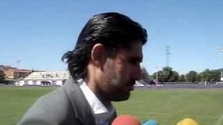 Real Valladolid 07-08: declaraciones Caminero (10 agosto 07)