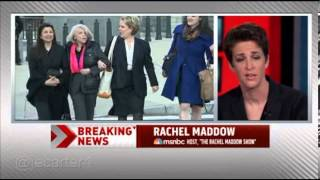 Rachel Maddow teased for not being married