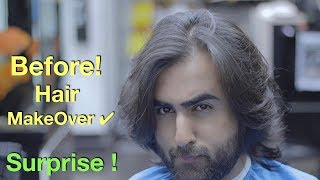 Amazing Hair Makeover (ASMR) ✰ Surprise Proposal ✰ Easy Hairstyle For Men 2019