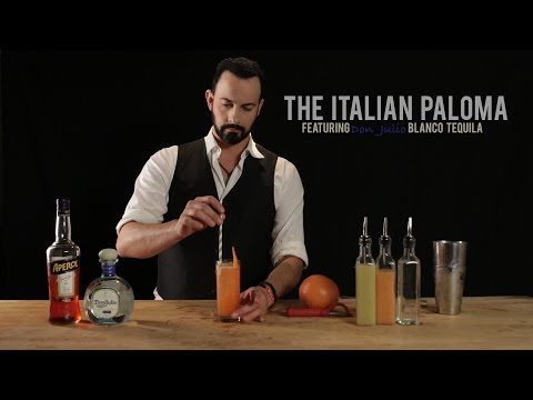 How to Make the Italian Paloma  Featuring Don Julio Blanco Tequila