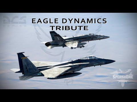 Eagle Dynamics Tribute - (hornet teaser)