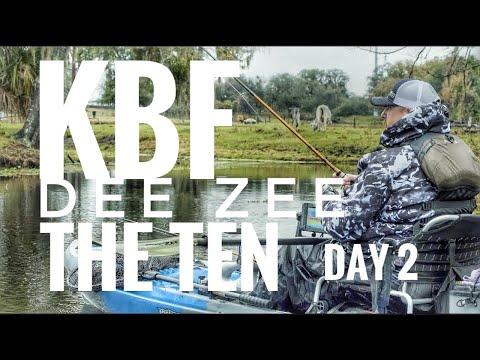 DAY 2 ACTION   Kayak Bass Fishing Dee Zee The TEN   Kissimmee, Florida