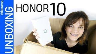 Honor 10 unboxing -¿un Huawei P20 más BARATO?- 💰 👯