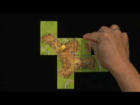 How to play Carcassonne - pt 1 of 2 - base set