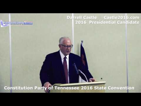 Constitution Party of Tennessee State Convention 6 26 16