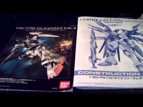Lets Dual Build PG Strike Freedom (Intro/Unboxing) Part 1