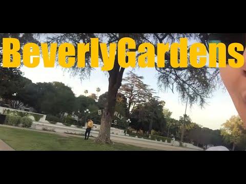 Beverly Gardens Park in Beverly Hills