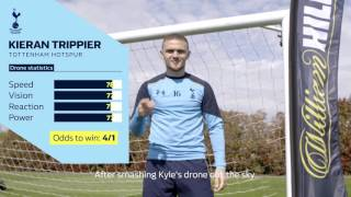 Tottenham players take on the William Hill Speed Challenge!